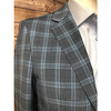 Nevima Jacket - Turquoise/Black Plaid