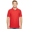 U.S. POLO COLLARED SHORT SLEEVE POLO - RED