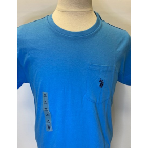 U.S. POLO SHORT SLEEVE T-SHIRT - AZURE