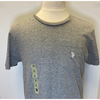 U.S. BIG & TALL  POLO SHORT SLEEVE T-SHIRT - H.GREY