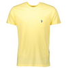U.S. POLO SHORT SLEEVE T-SHIRT  - LEMON