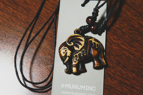 Tribal Elephant Necklace