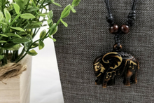 Load image into Gallery viewer, Tribal Elephant Necklace