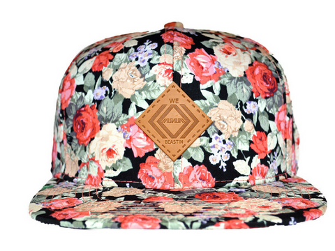 Flowered Out Snapbacks