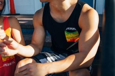 Men's Rasta Pocket Tank Top