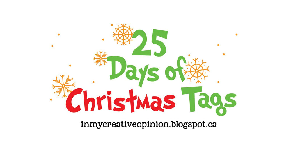25 Days of Christmas Tags - Day 12