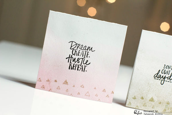 Ombre Positivity Card Set by Taheerah