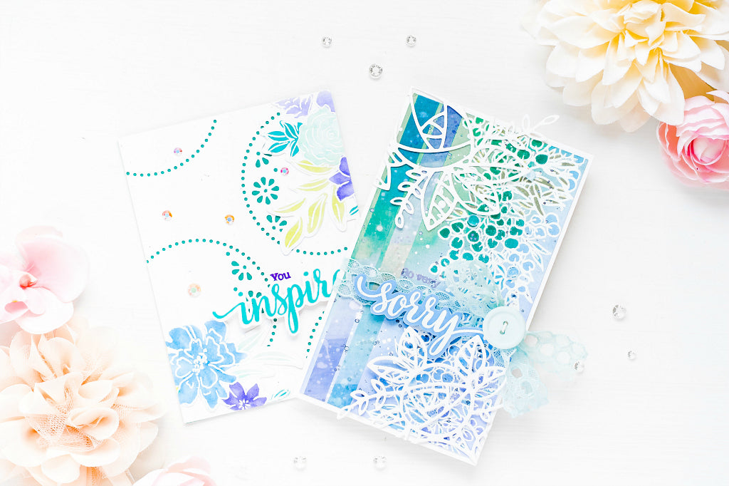 Fun with Layers and Clean Designs | Ivana Camdzic