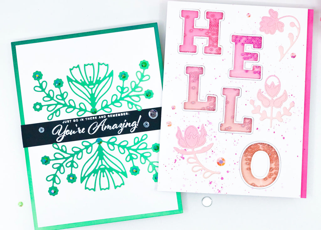 Cards with Spring colors | Alix Davis