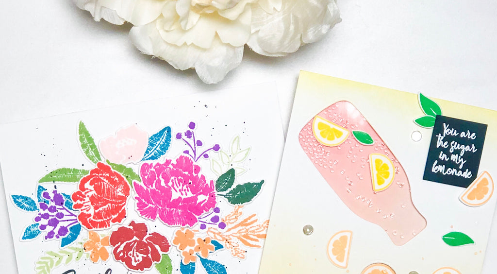 Floral and Shaker Cards | Alix Davis