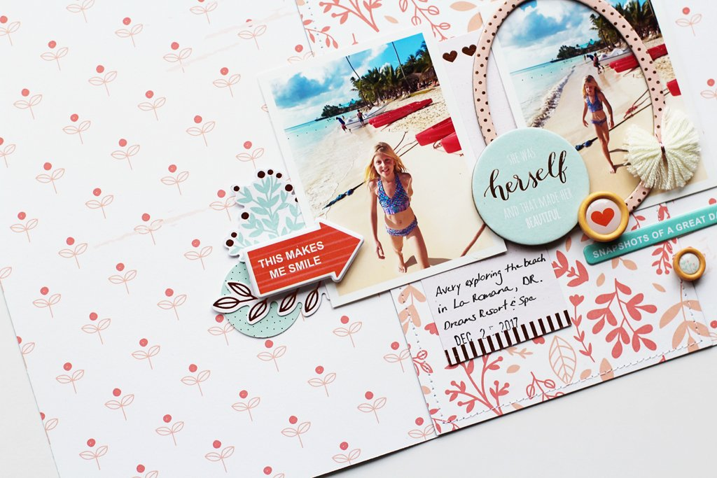 Layouts Using the Be You Collection