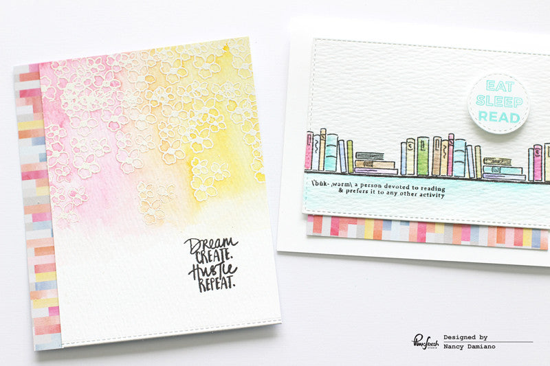 Captured + Watercolor Cards | Nancy Damiano