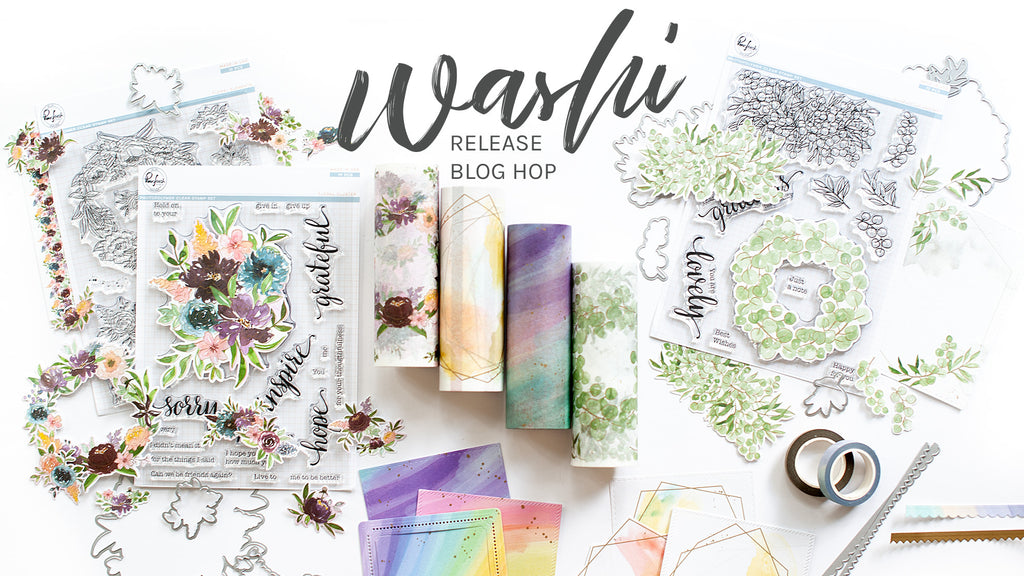 Pinkfresh Studio June Washi Release Blog Hop