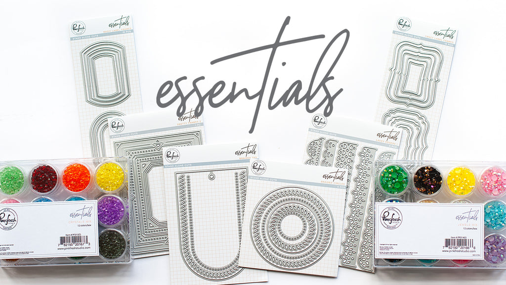 Pinkfresh Studio May Essentials Release Blog Hop
