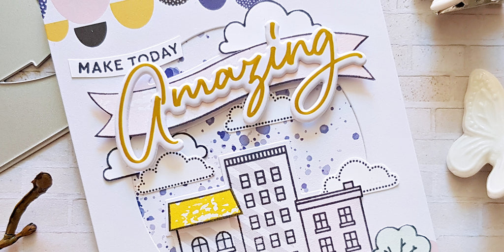 A Day in the City Card Inspirations | Zsoka Marko