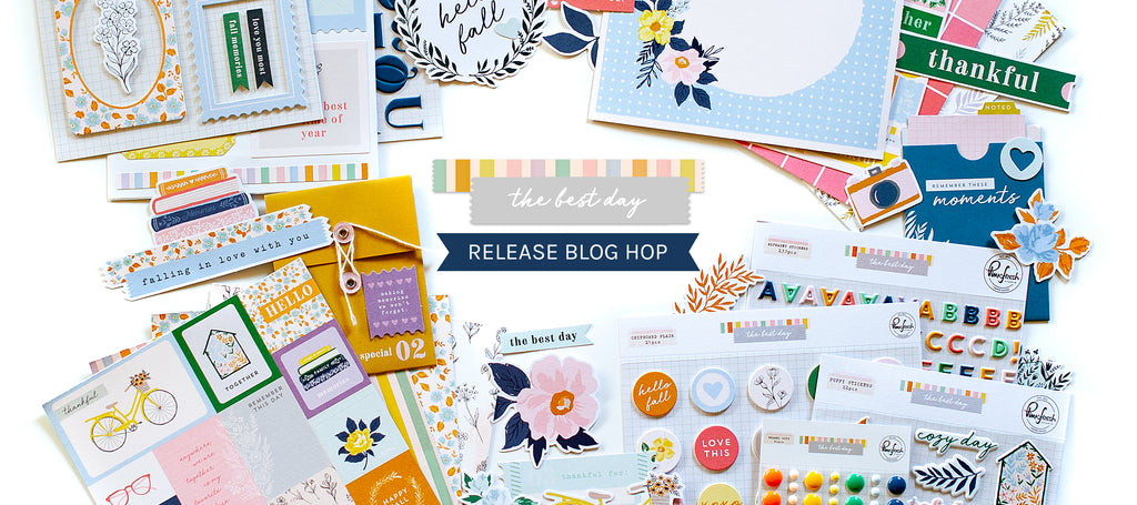 The Best Day Collection Release Blog Hop