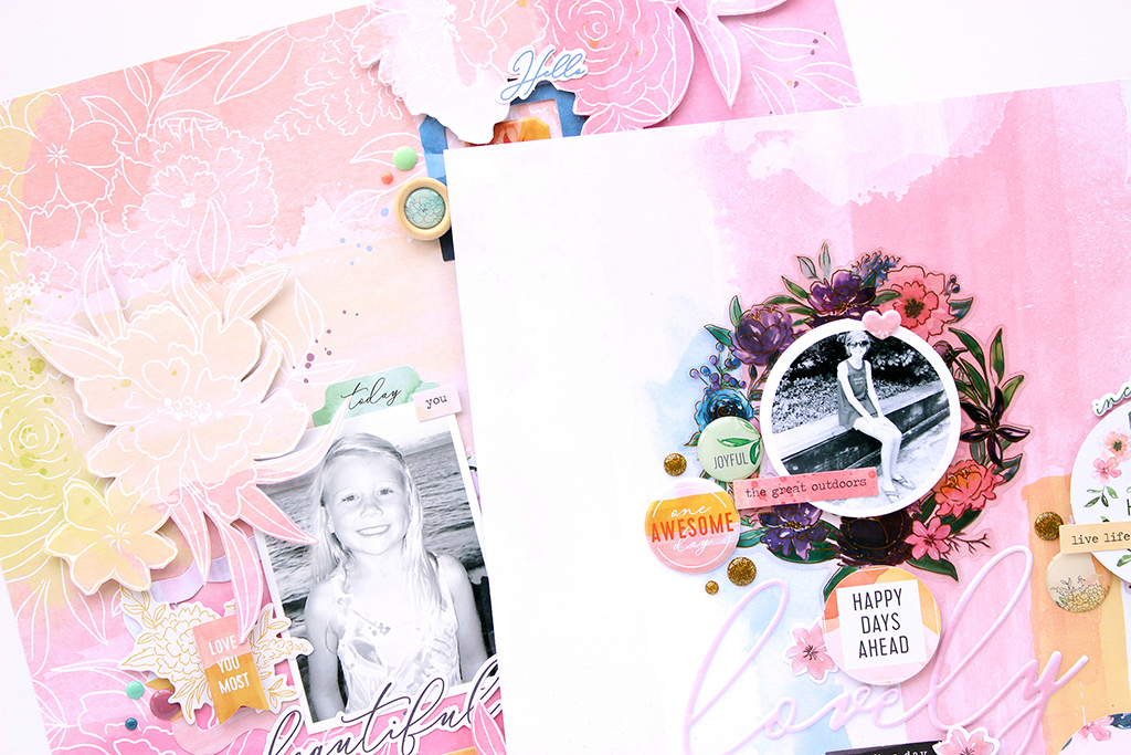 Just a Little Lovely Layouts | Ashley Horton