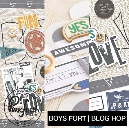 Boys Fort Blog Hop & a Giveaway!