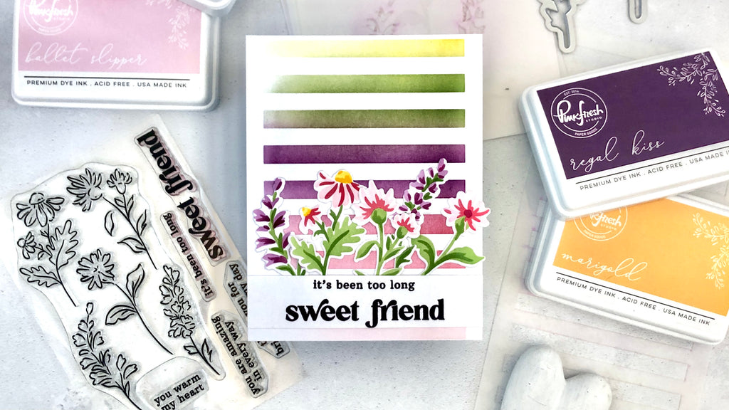 Sweet Friend Floral + August Challenge with Erica
