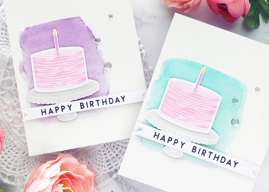 Simple Watercolor Cards | Caly Person