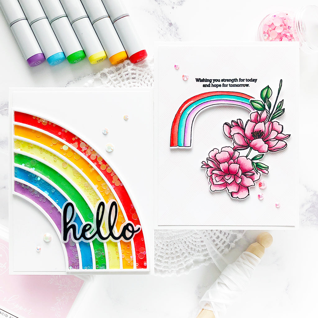 Rainbow Cards | Caly Person