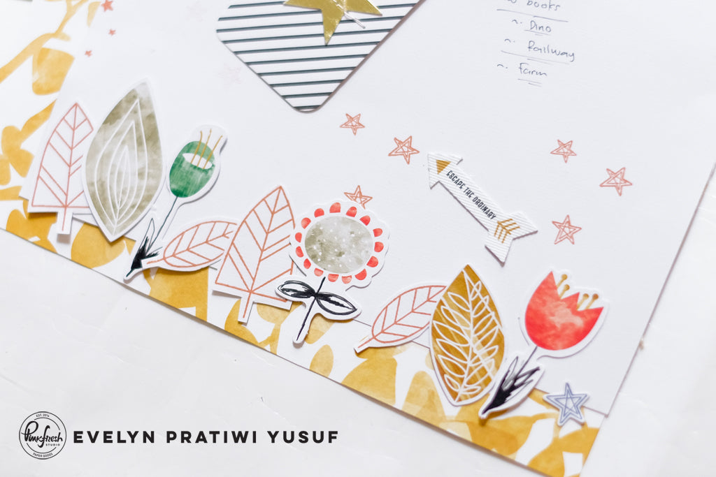 Two Boy Layouts Focusing on Stamping | Evelyn Yusuf