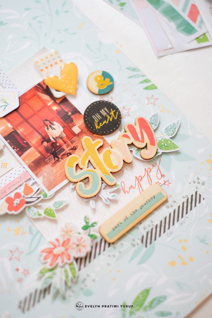 Let Your Heart Decide Layouts With Evelyn Yusuf