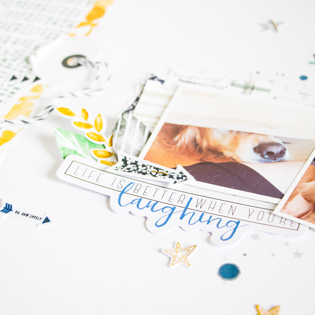 Layout & Card Inspiration with Escape the Ordinary and Boy's Fort | Kathleen