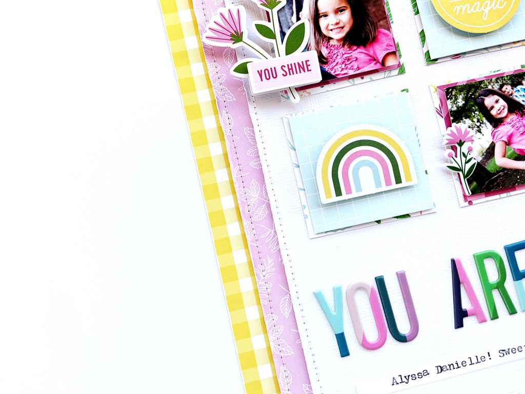 Scrapbook Inspiration with Noteworthy & Super Cool