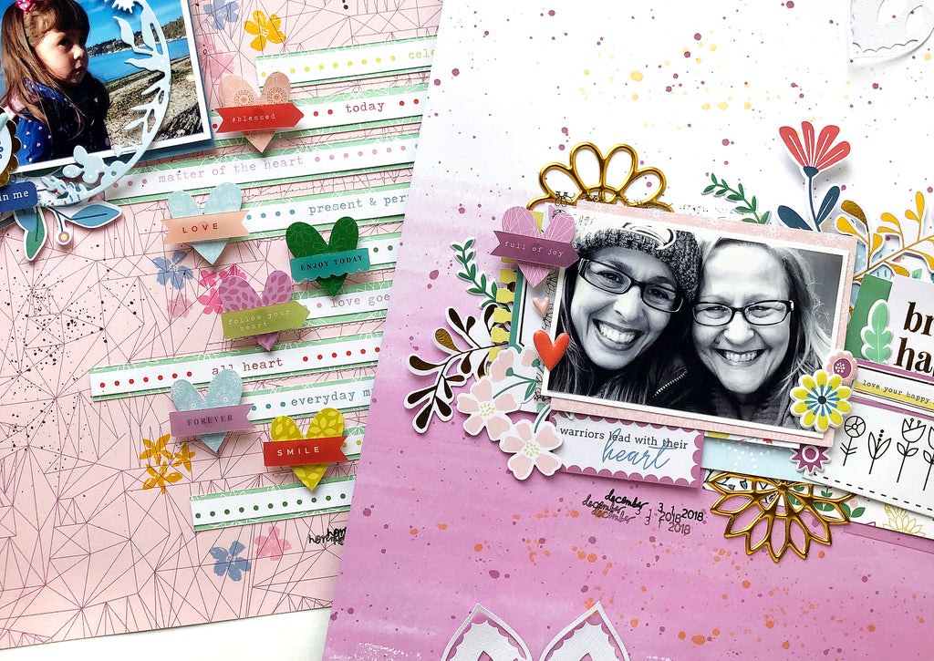 Everyday Musings Layouts With Enza