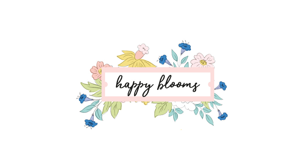 Paper Collection Reveal: Happy Blooms + GIVEAWAY