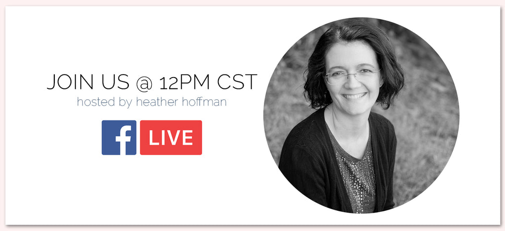 Facebook Live with Heather Hoffman