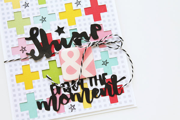 Pinkfresh Studio + Just Nick Blog Hop, Bright and Graphic Cards by Carson