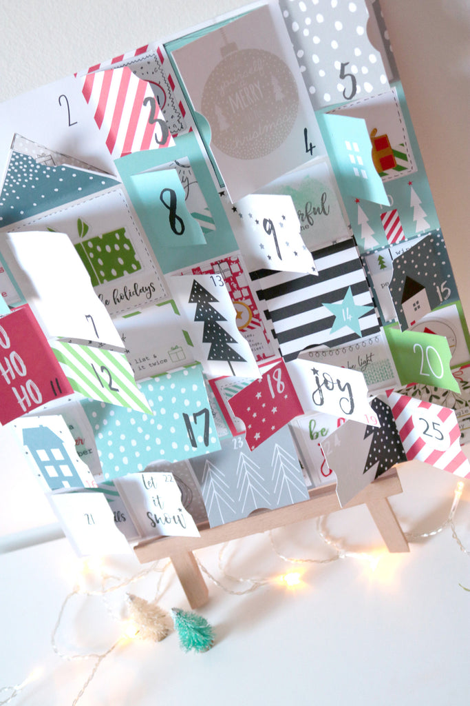 Advent Calendar and Gift Wrapping by Núria