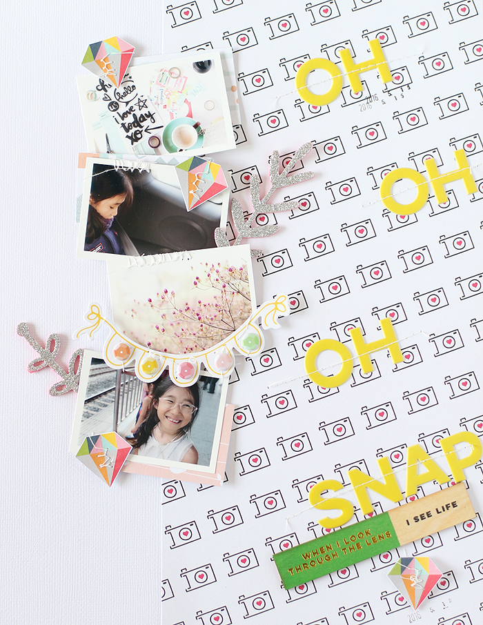 Two layouts by Eunyoung.