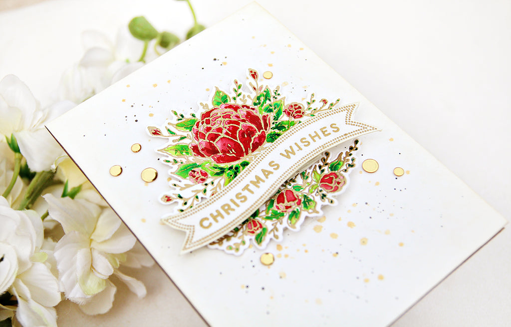 Video: Elegant Christmas Card | Erum Tasneem