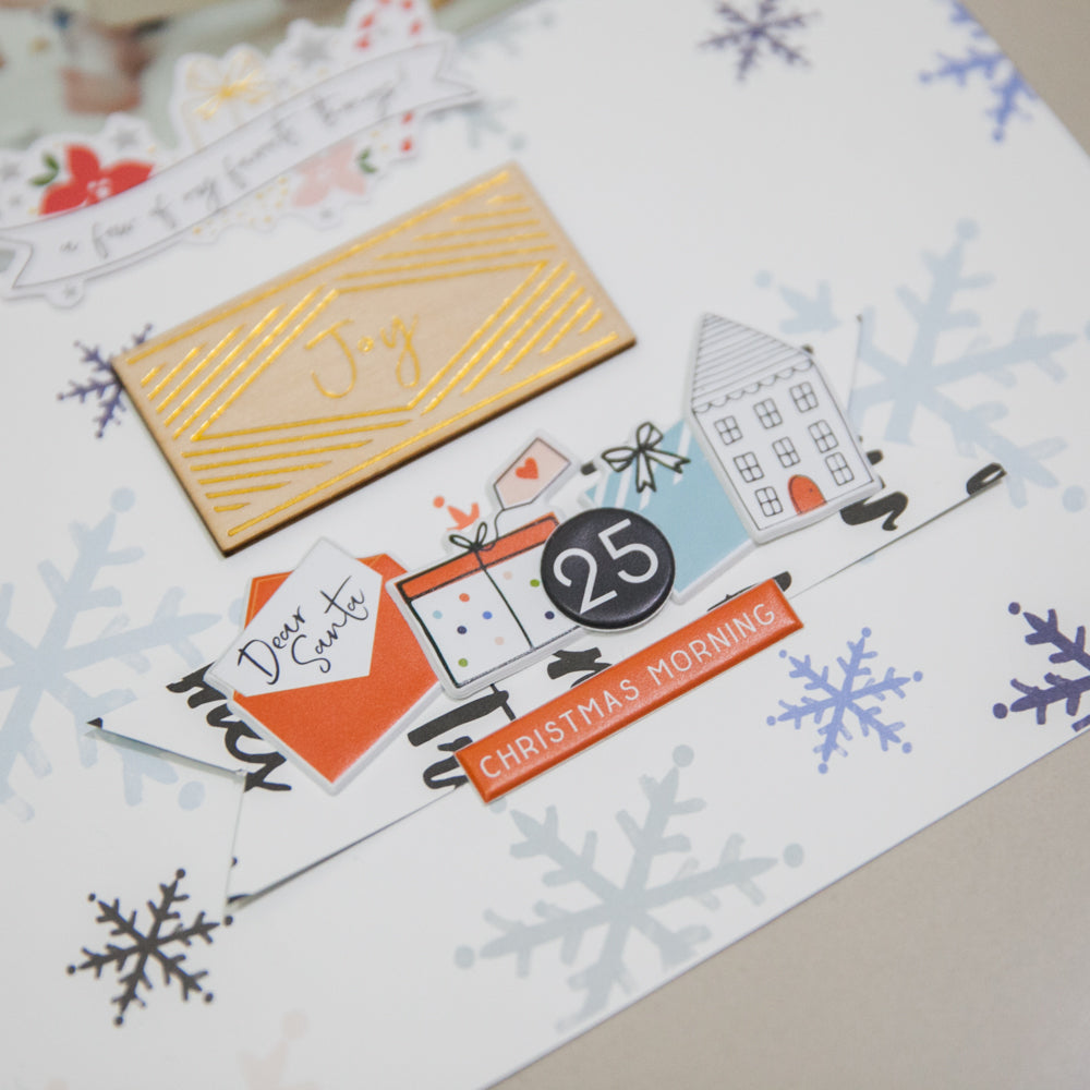 December Days Layouts | Evelyn Yusuf