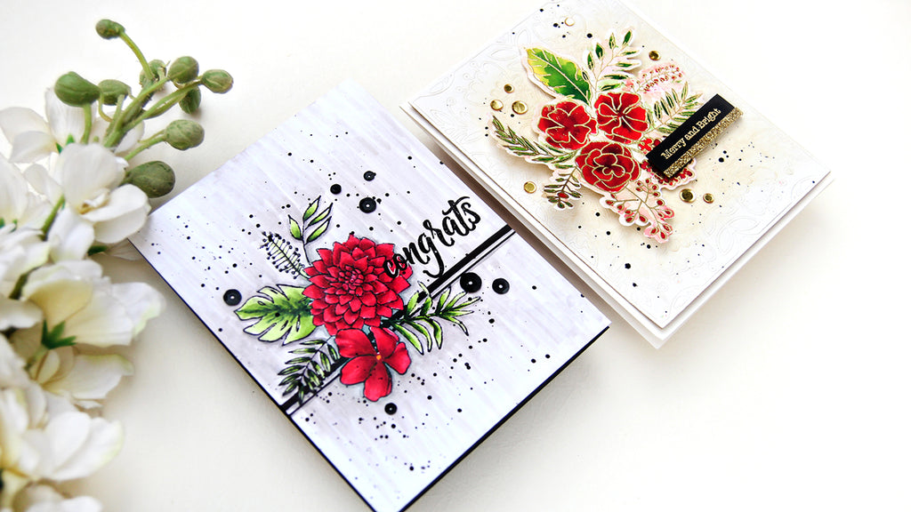 Video: Cards Using Fancy Blooms | Erum Tasneem