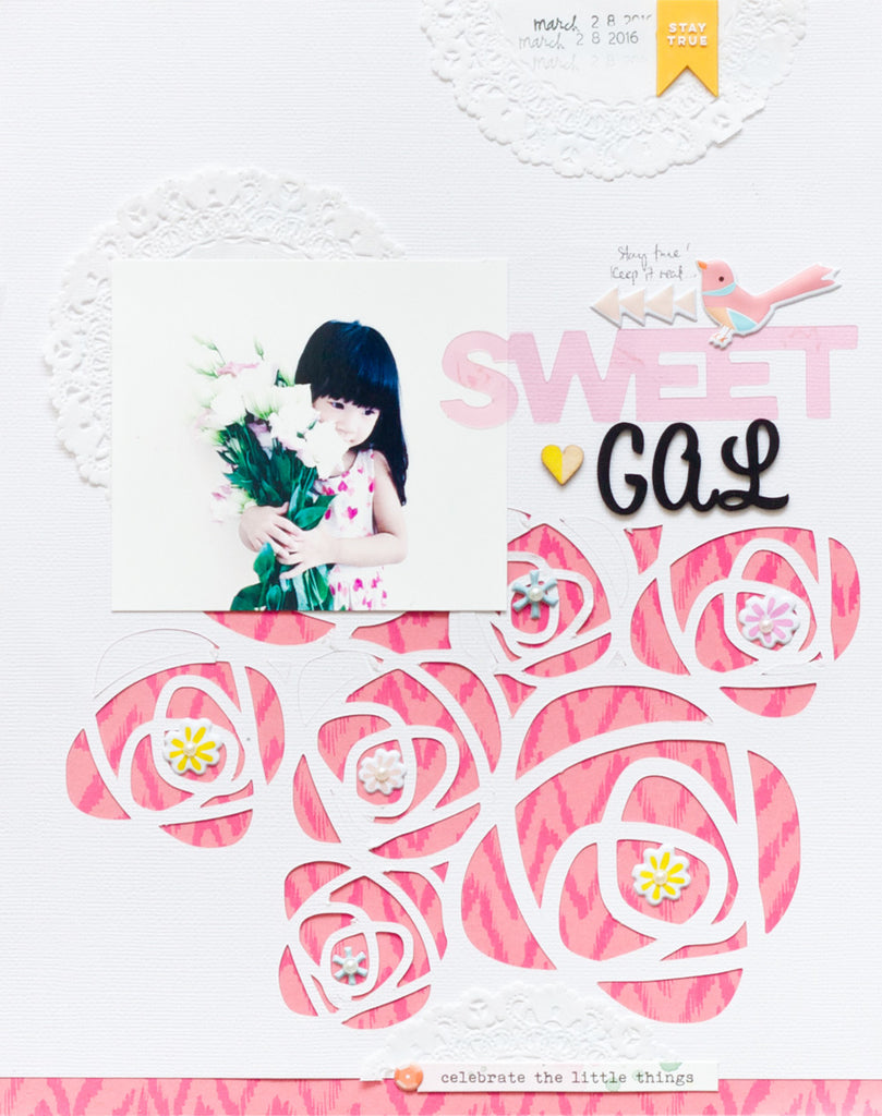 Sweet Gal Layout by Jessy