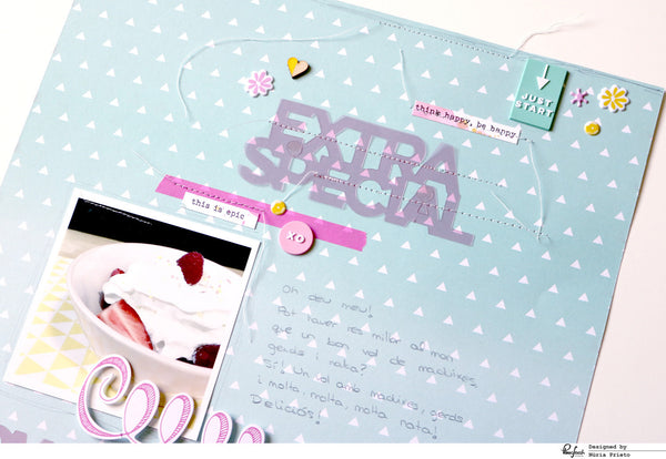 Sweet all about pink layout