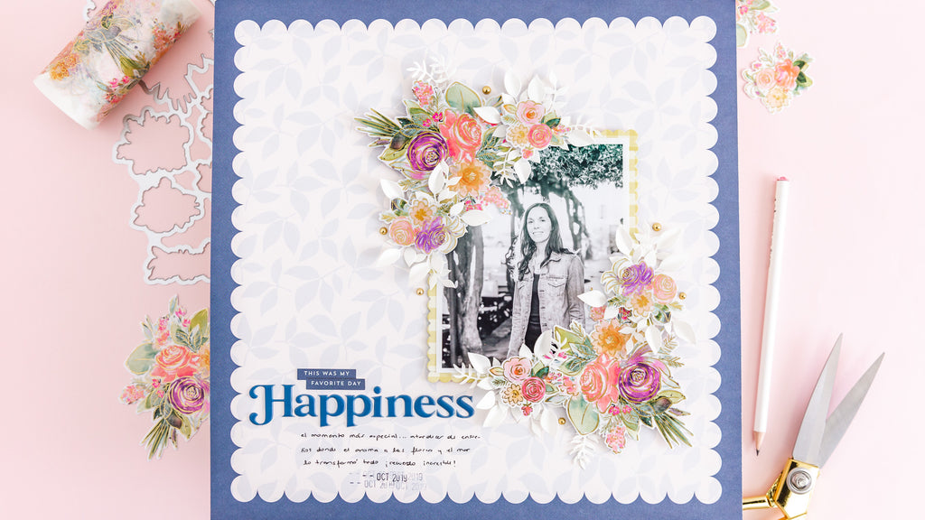Happiness Layout | Celes Gonzalo