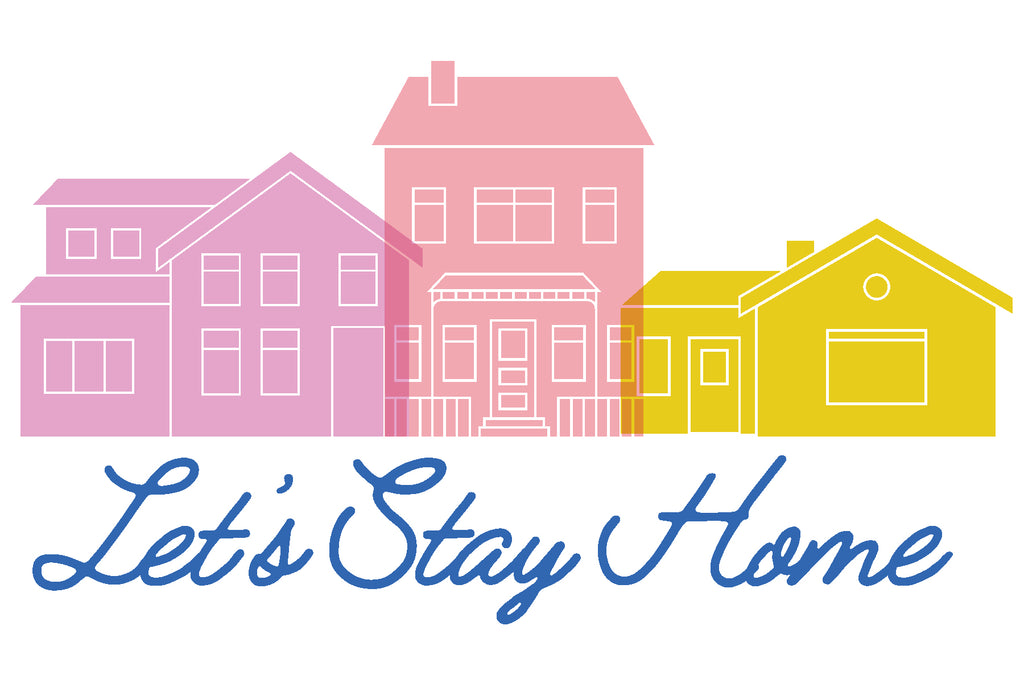 Paper Collection Reveal: Let's Stay Home + Giveaway