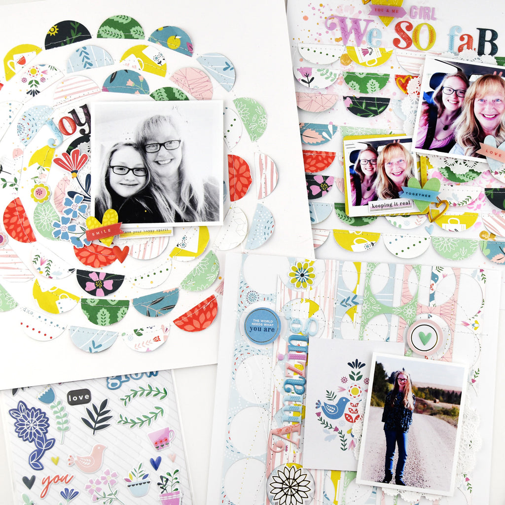 Everday Musings Layouts with Lorilei Murphy
