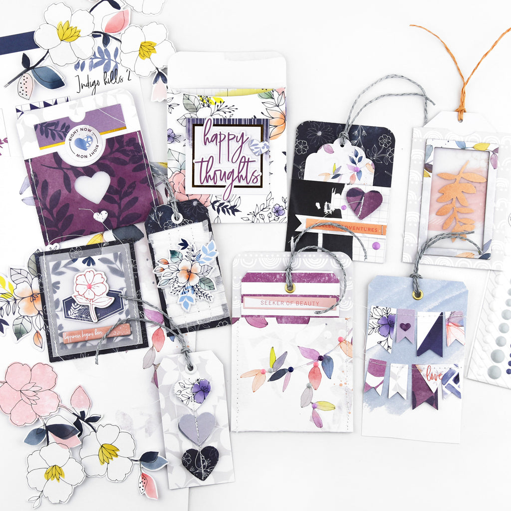 Handmade Embellishments & Tags with Indigo Hills 2