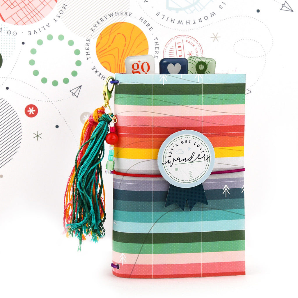 Pocket Size Traveler's Notebook with Out and About