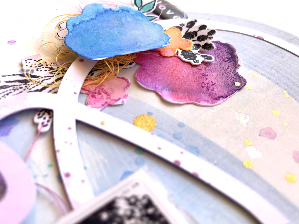 Mixed Media Everyday Musings Layouts | Missy Whidden