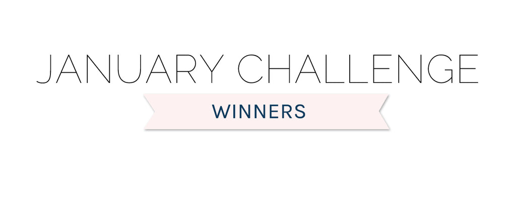 January 2020 Challenge Winners & Top 3
