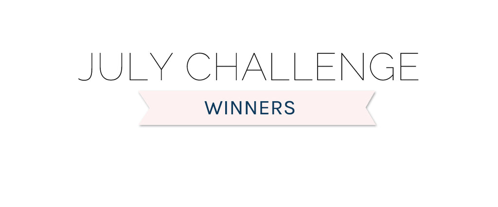 July 2020 Challenge Winners & Top 3