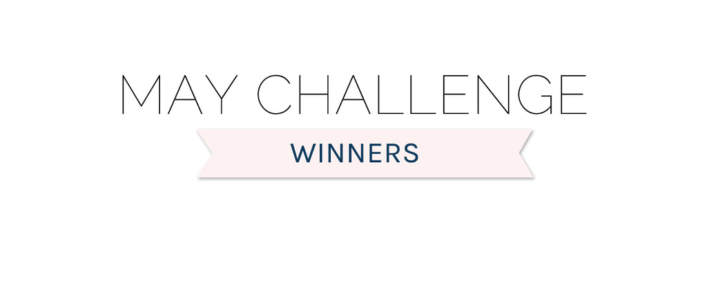 May 2020 Challenge Winners & Top 3