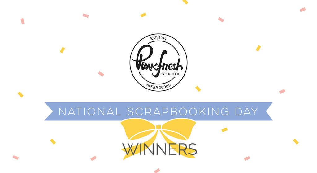 National Scrapbooking Day Winners
